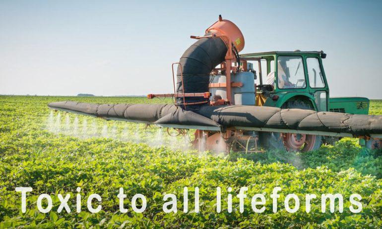 Pesticides are toxic